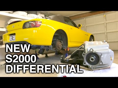 installing-a-new-differential-in-my-honda-s2000!