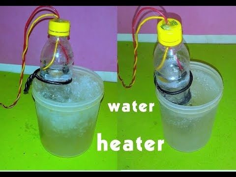 how to make water heater by spoon at home - easy way