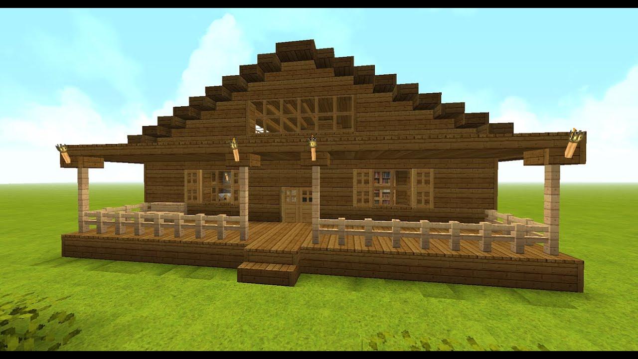Como hacer una casa en minecraft paso a paso youtube for Como hacer una casa clasica en minecraft