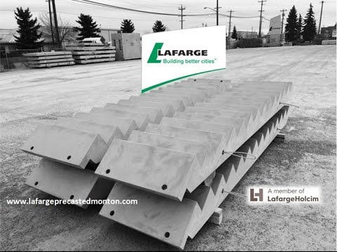 Precast Concrete Stairs Production Sequence By Lafarge Precast Edmonton