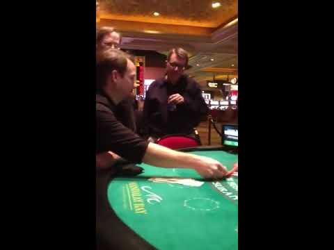 $1,100 Blackjack Hand
