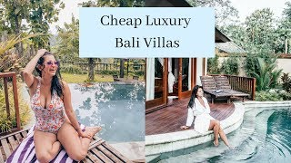 Bali Luxury Villa Only $50 A Night! | Private Pool!