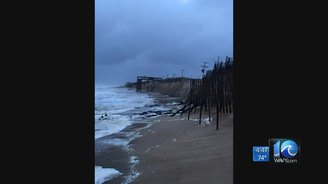 Weather will test the new dune in Kitty Hawk