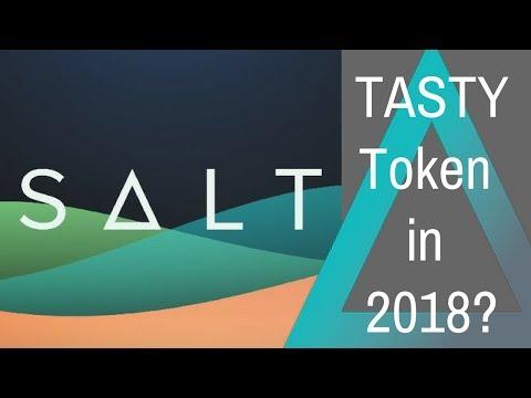 SALT - a TASTY Token for Crypto Lending in 2018?