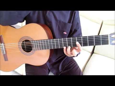 Romance de Amor Guitar Lesson Part 1