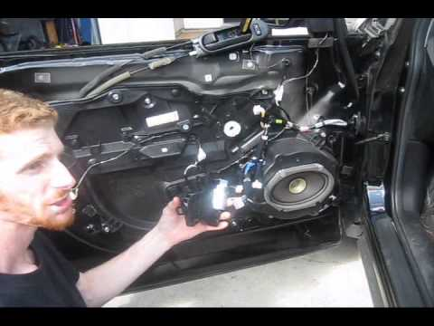mazda cx 7 window motor replacement youtube Mazda Stereo Wiring Diagram Under Seat Mazda 3