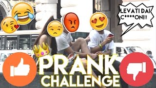 POSSO BACIARTI?? || PRANK CHALLENGE || feat The Onyons || by Victor Hugo Nico
