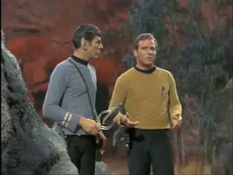 Mr Spock lets one rip