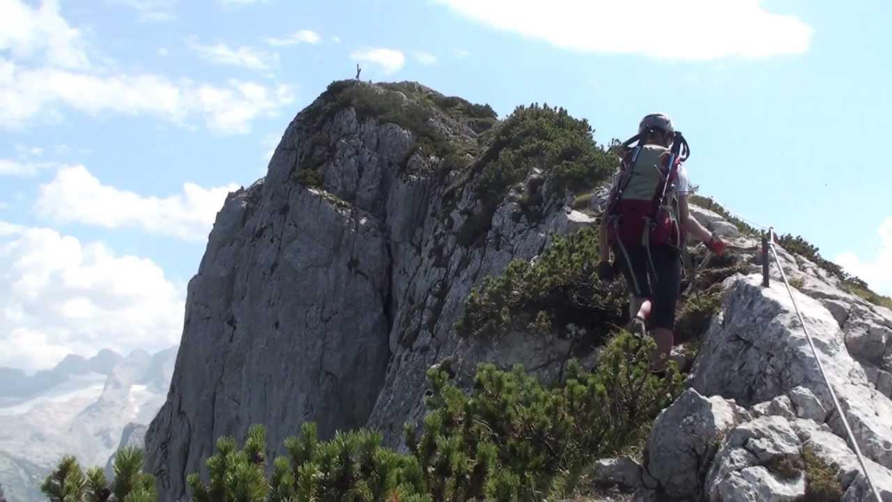 Klettersteig Gosau : Via ferrata intersport klettersteig gosau salzkammergut austria