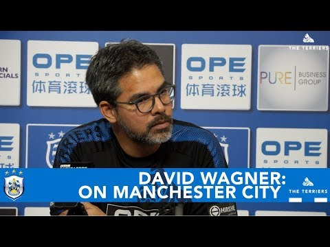 WATCH: David Wagner on Manchester City
