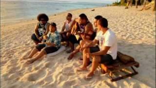 Nesian Mystik - 'Sun Goes Down' unplugged in Rarotonga Cook Islands