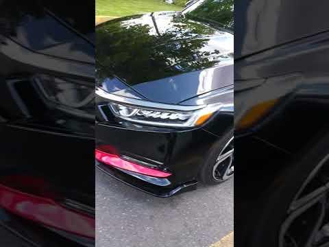 2019 Honda Accord Sport front lip spoiler look