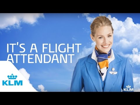 It's a Flight Attendant (KLM: It's an Airline)