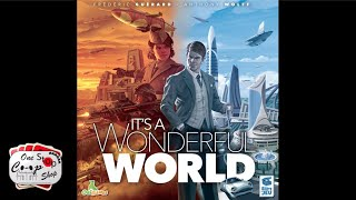 It's a Wonderful World  |  Solo Playthrough  |  with Mike