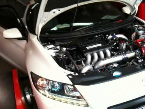 Honda CRZ Supercharged DynoRun By Hondasport
