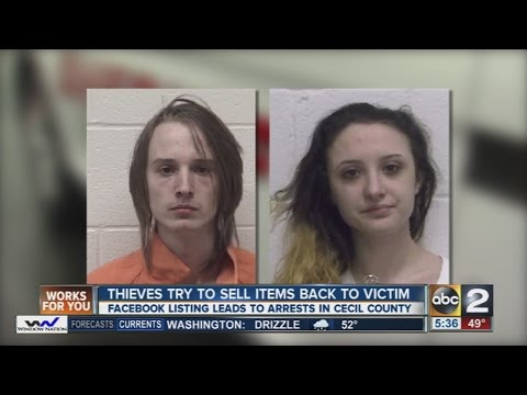 Cecil County thieves caught after trying to sell tools they stole back to the victim