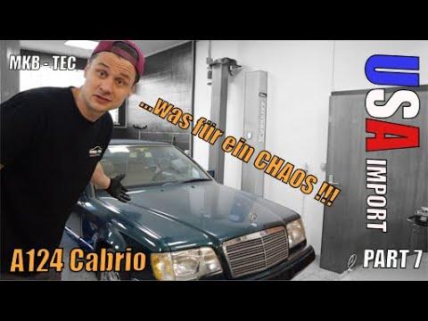 MKB TEC | Es tropft überall | Mercedes A124 Cabrio US IMPORT | Part 7