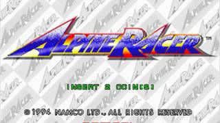 Alpine Racer OST - Opening Attract [Static Version] ~Title Call