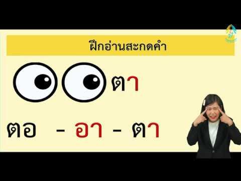 EP5 ป.1 ภาษาไทย การอ่านสะกดคำสระอา