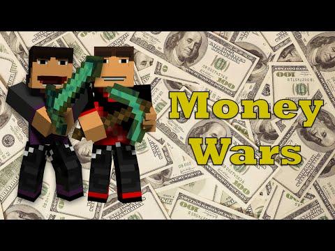 Minecraft Minigames SOLO MONEY WARS #4 :: Run This Town