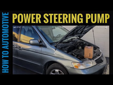 How to Replace the Power Steering Pump on a Honda Odyssey