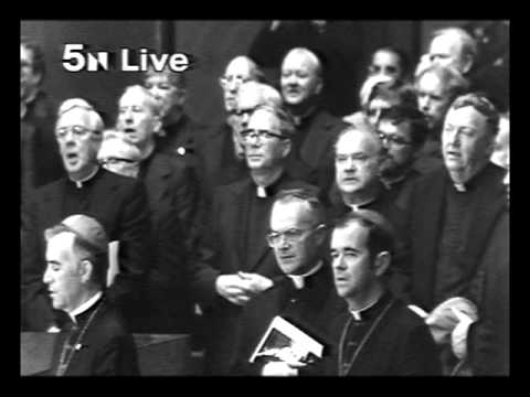 Pater Noster sung by JPII in Holy Name Cathedral Chicago