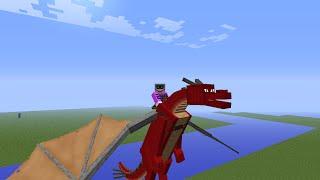 Как приручить дракона в Minecraft 1.5.2 без модов видео ...