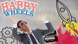 みんなの夢を乗せたロケット...大爆発!! - Happy Wheels 実況プレイ - Part32 thumbnail
