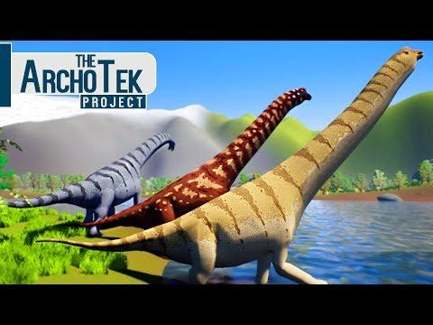 The Archotek Project - Grandes Dinossauros Herbívoros, Camarasaurus e Brachiosaurus! | (#9) (PT-BR)
