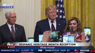 HISPANIC HERITAGE: President Trump remarks at Hispanic Heritage Month Reception