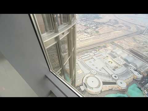 Burj Khalifa Observation Deck Walkthrough