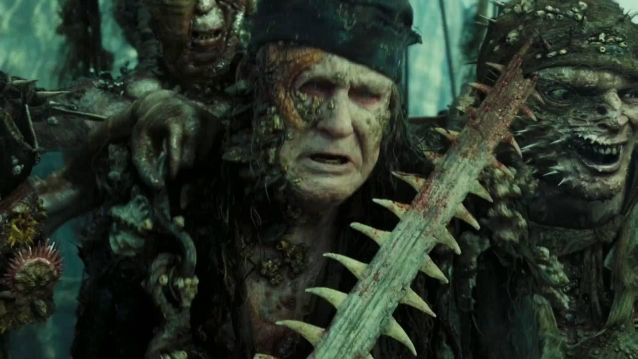 Pirates of the caribbean - Kraken Attack   Fluch der ...