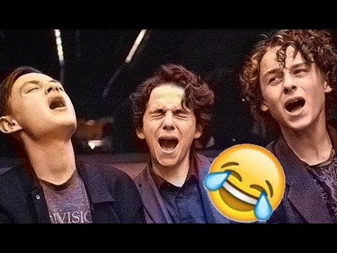 IT Movie Cast😊😊😊 - Finn, Jack, Wyatt and Jaeden CUTE AND FUNNY MOMENTS 2018 #3