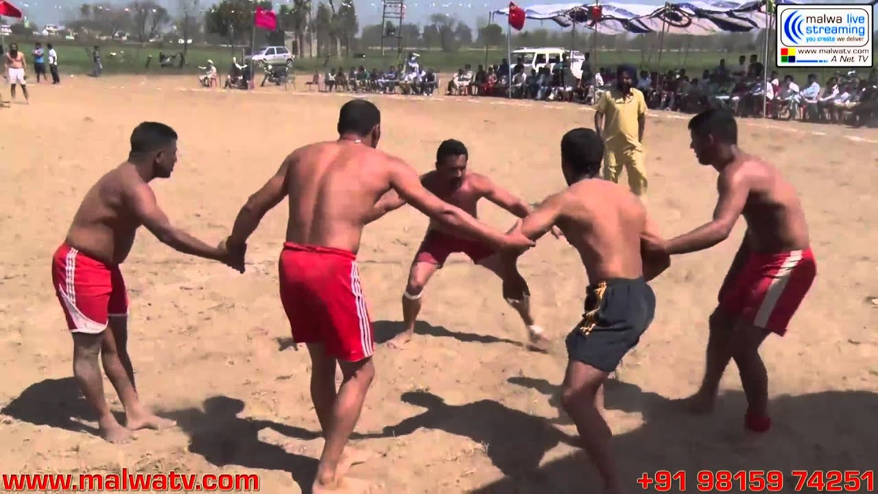 GANDHRAN (Nakodar - Jalandhar) Kabaddi Tournament - 2014.