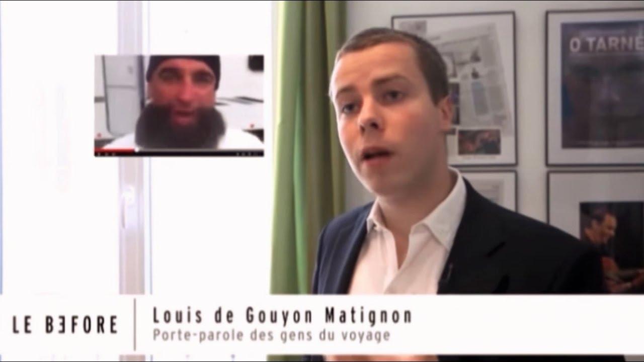 Fabuleux Louis de Gouyon Matignon, porte-parole des gens du voyage ! - YouTube RI53