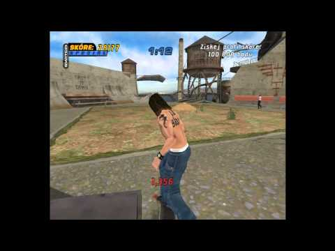 Czech LetsPlay Tony Hawks pro Skater 4 [part3] Alcatraz