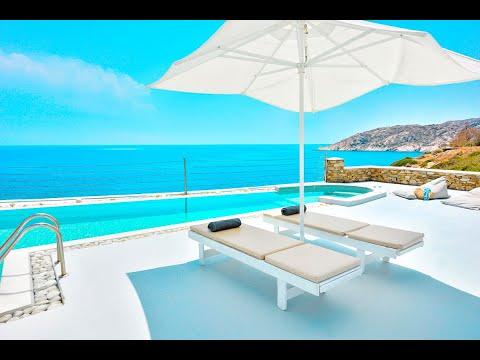 Luxury Seafront Villa , Ios Cyclades  Cyclades Luxury Villas for Sale