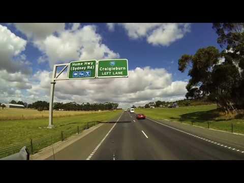 Video 501 - Beveridge TO To Melbourne (Big4 Caravan Park in Coburg)