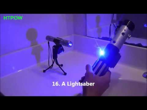 25 thing to burn with your 1W Laser Pointer