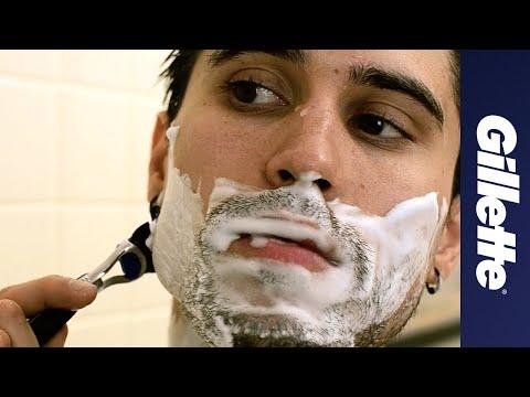 Shaving Tips: Shaving in The Shower   Gillette