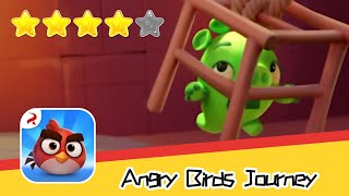 Angry Birds Journey 120 Walkthrough Fling Birds Solve Puzzles Recommend index four stars