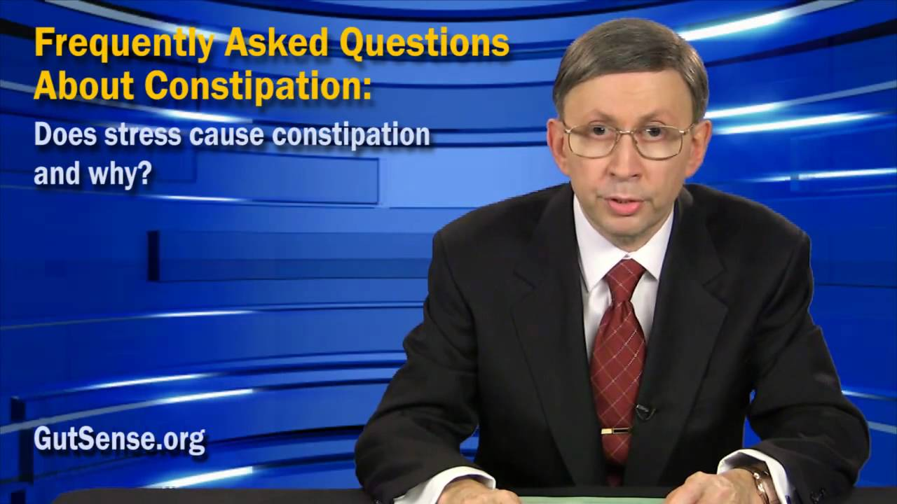 Does Stress Cause Constipation And Why?