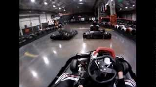 Teamsport karting Cardiff GoPro 960
