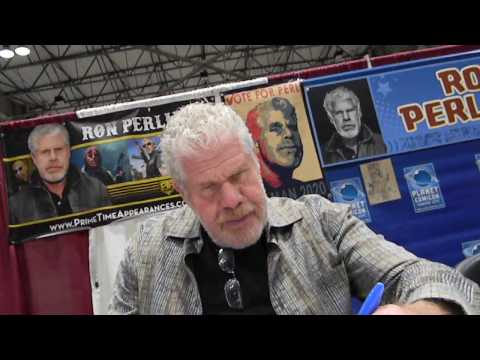 meeting Ron Perlman