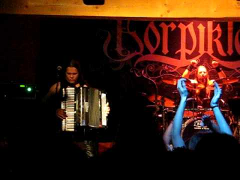 Korpiklaani Juho Kauppinen (JuhoKusti) accordion solo
