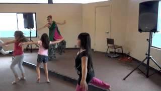 Teaching My First Bhangra Dance Class For Kids