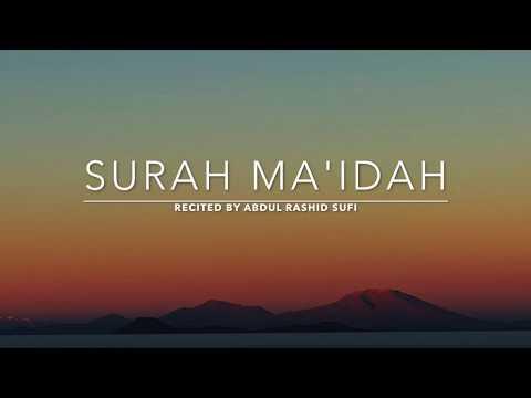 Surah Ma'idah - سورة المائدة  | Abdul Rashid Sufi | English Translation