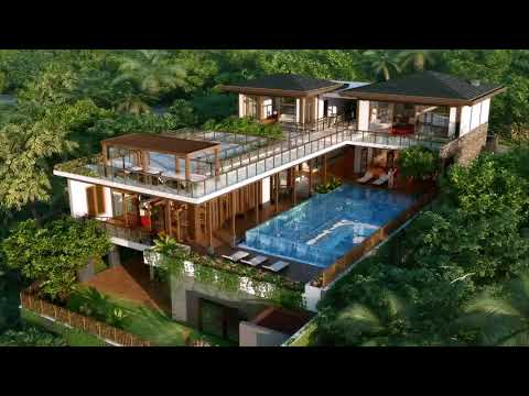 Indonesian Tropical House Plans