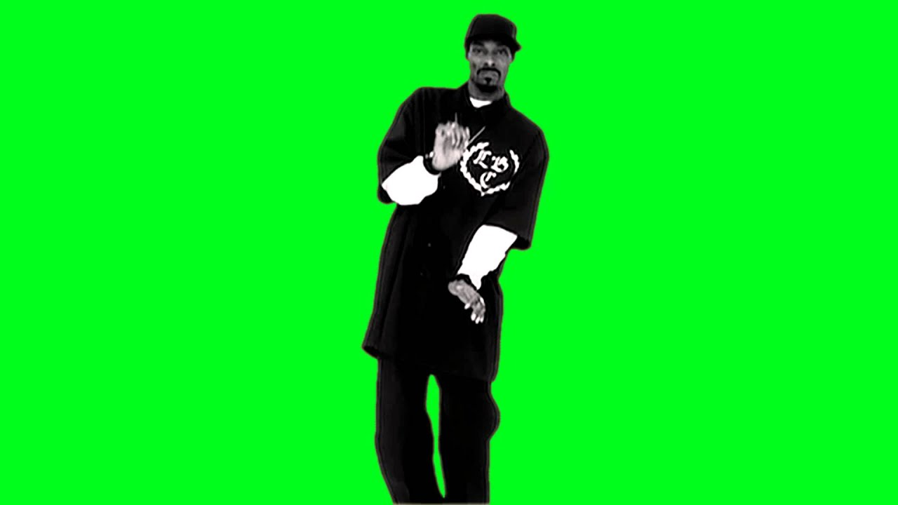 Snoop Dogg Drop It Like Its Hot Dance Greenscreen Hd Footage With