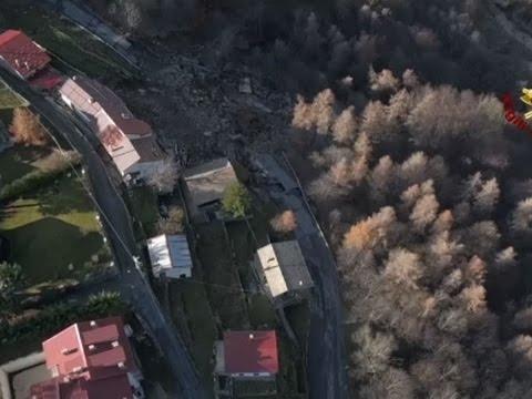 Raw: Landslide Devastates Italy's Northern Towns